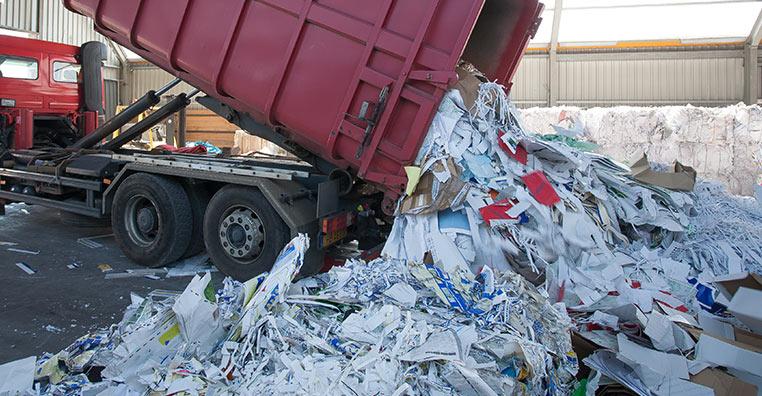 Transport  de déchets
